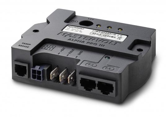 Advanced 3-step charge regulator for standard and high performance alternators.