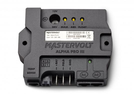 Advanced 3-step charge regulator for standard and high performance alternators. (Image 2 of 3)