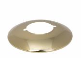 Starklichtlampe HK500  Reflektorschirm / Stahl, vergoldet
