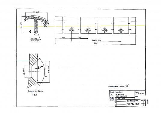 Original Reling für Ihre BAVARIA Yacht. Bis Baujahr 2013. (Bild 6 von 7)