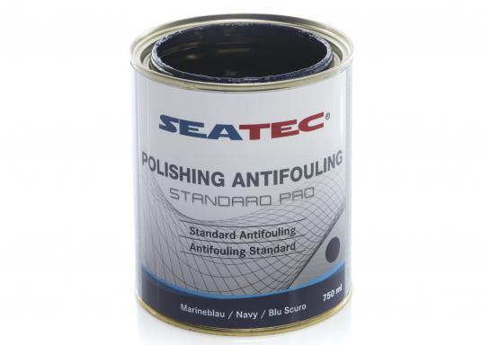 A further development of STANDARD, the proven SEATEC Antifouling. STANDARD PRO is a universal, self-polishing antifouling for sailing yachts, dinghies and motor yachts, based on bioactive, organic and copper compounds. (Afbeelding 4 of 5)