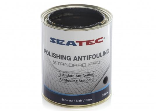 A further development of STANDARD, the proven SEATEC Antifouling. STANDARD PRO is a universal, self-polishing antifouling for sailing yachts, dinghies and motor yachts, based on bioactive, organic and copper compounds. (Afbeelding 3 of 5)