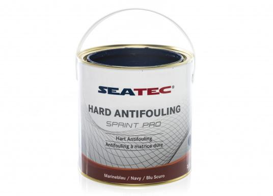Highly effective, universal hard antifouling for sailing yachts, dinghies, motor yachts, as well as fast motor boats in areas with medium fouling conditions. It is suitable for use in fresh, salt and brackish waters as well as in the Mediterranean area (exception: SPRINT PRO Dover White). (Afbeelding 4 of 5)