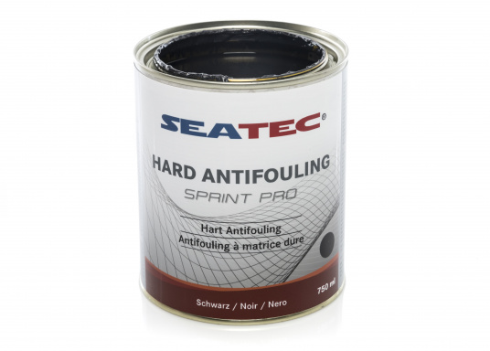 Highly effective, universal hard antifouling for sailing yachts, dinghies, motor yachts, as well as fast motor boats in areas with medium fouling conditions. It is suitable for use in fresh, salt and brackish waters as well as in the Mediterranean area (exception: SPRINT PRO Dover White). (Image 3 of 5)