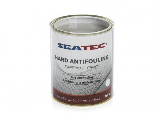 Highly effective, universal hard antifouling for sailing yachts, dinghies, motor yachts, as well as fast motor boats in areas with medium fouling conditions. It is suitable for use in fresh, salt and brackish waters as well as in the Mediterranean area (exception: SPRINT PRO Dover White). (Afbeelding 5 of 5)