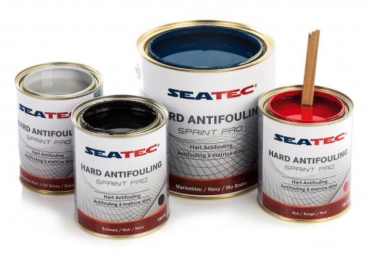 Highly effective, universal hard antifouling for sailing yachts, dinghies, motor yachts, as well as fast motor boats in areas with medium fouling conditions. It is suitable for use in fresh, salt and brackish waters as well as in the Mediterranean area (exception: SPRINT PRO Dover White).