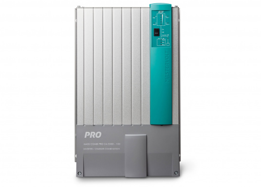 Der MASS COMBI PRO Wechselrichter ist mit modernster Technologie ausgestattet.Der MASS COMBI PRO 24/3500-100 ist mit einem MasterBus ausgestattet. (Bild 2 von 2)