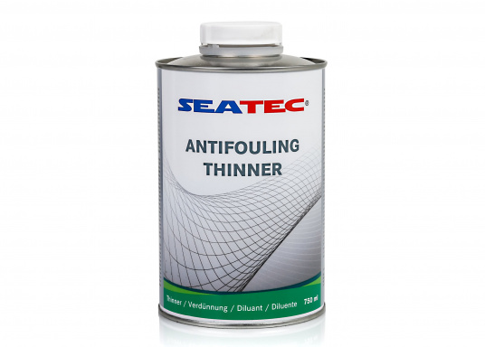 Seatec thinner, suitable for the Seatec antifouling products. Contents: 750 ml.