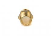 Double nipple / brass CR
