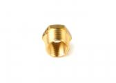 Reduction Nipple / brass CR
