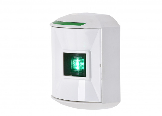 Die hochqualitativen und modernen LED-Positionsleuchten der Serie 44 überzeugen mit edlem Design und ultra heller Power LED. Set besteht aus je einer Steuerbord-, Backbord- sowie Hecklaterne. (Bild 4 von 12)