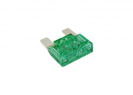 MAXI Sicherung, erhältlich in unterschiedlichen Ausführungen. Passend für den MAXI Sicherungshalter.