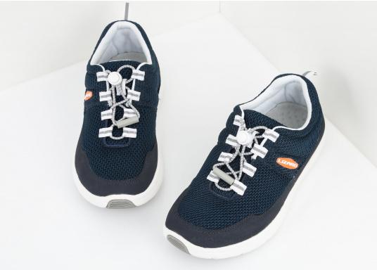 Ein superleichter Boots-Sneaker mit der Gummi Grip Sohlen Technologie von LIZARD bietet hervorragenden Halt auf jeder Oberfläche. Material: Mesh, Mikrofaser. Farbe: blau (Bild 3 von 13)
