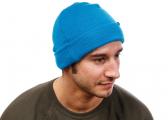 BEANIE cap / blue