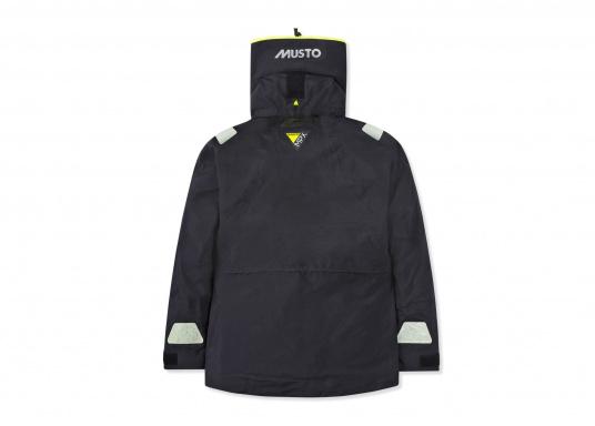 Die Jacke, die dem Offshore-Segler wirklich entspricht. Mit hochstellbarem Kragen und völlig verschließbarer Kapuze. MPX GORE-TEX®Pro steht für das beste Material für anspruchsvolle Segler. (Bild 12 von 15)