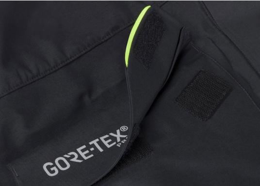 Die Jacke, die dem Offshore-Segler wirklich entspricht. Mit hochstellbarem Kragen und völlig verschließbarer Kapuze. MPX GORE-TEX®Pro steht für das beste Material für anspruchsvolle Segler. (Bild 13 von 15)
