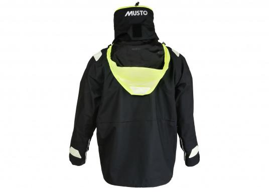 Die Jacke, die dem Offshore-Segler wirklich entspricht. Mit hochstellbarem Kragen und völlig verschließbarer Kapuze. MPX GORE-TEX®Pro steht für das beste Material für anspruchsvolle Segler. (Bild 4 von 15)
