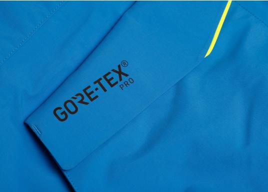 Die Jacke, die dem Offshore-Segler wirklich entspricht. Mit hochstellbarem Kragen und völlig verschließbarer Kapuze. MPX GORE-TEX®Pro steht für das beste Material für anspruchsvolle Segler. (Bild 7 von 12)