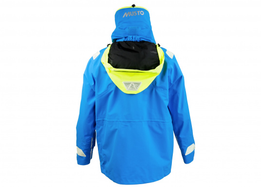 Die Jacke, die dem Offshore-Segler wirklich entspricht. Mit hochstellbarem Kragen und völlig verschließbarer Kapuze. MPX GORE-TEX®Pro steht für das beste Material für anspruchsvolle Segler. (Bild 4 von 12)