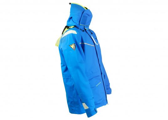 Die Jacke, die dem Offshore-Segler wirklich entspricht. Mit hochstellbarem Kragen und völlig verschließbarer Kapuze. MPX GORE-TEX®Pro steht für das beste Material für anspruchsvolle Segler. (Bild 2 von 12)