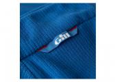 Pullover in pile GRID / blu