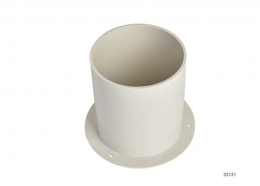 Für den Lukenlüfter von Lewmar bieten wir Ihnen hier einen passenden Einbaurahmen (bis 100 mm Decksstärke) an.