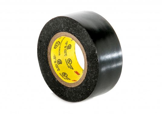 Das Isolierband SUPER 33+ besitzt eine sehr hohe Klebkraft und eine exzellente Verarbeitbarkeit auch bei niedrigen Temperaturen. Es ist die optimale Lösung Ihre Elektrik an Bord gegen Feuchtigkeit, Laugen, Lösungsmitteln und weiteren Einflüssen zu schützen. (Bild 2 von 3)