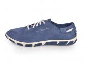 JAZARU Women's Boat Shoe / denim blue