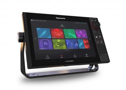 Spezial für Skipper entwickelt, die alles in einem Display haben wollen. Ausgestattet mit einem ultra-schnellen Quad-Core-Prozessor, einem superhellen IPS-Display und der intelligenten LightHouse Bedienoberfläche - für ein reibungsloses und intuitives Navigationserlebnis. Der AXIOM PRO-S Display ist ausgestattet mit einem Einkanal-CHIRP-Sonar und einer Navionics+ SmallKarte. (Bild 4 von 7)