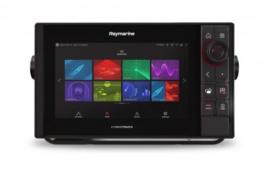 Spezial für Skipper entwickelt, die alles in einem Display haben wollen. Ausgestattet mit einem ultra-schnellen Quad-Core-Prozessor, einem superhellen IPS-Display und der intelligenten LightHouse Bedienoberfläche - für ein reibungsloses und intuitives Navigationserlebnis. Der AXIOM PRO-S Display ist ausgestattet mit demReal Vision™ 3D-Sonar und 1kW CHIRP-Sonar. (Bild 3 von 11)