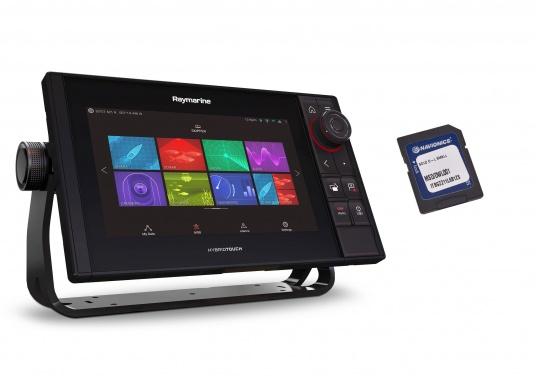 Spezial für Skipper entwickelt, die alles in einem Display haben wollen. Ausgestattet mit einem ultra-schnellen Quad-Core-Prozessor, einem superhellen IPS-Display und der intelligenten LightHouse Bedienoberfläche - für ein reibungsloses und intuitives Navigationserlebnis. Der AXIOM PRO-S Display ist ausgestattet mit dem Real Vision™ 3D-Sonar und 1 kW CHIRP-Sonar sowie einer Navionics+ SmallKarte.