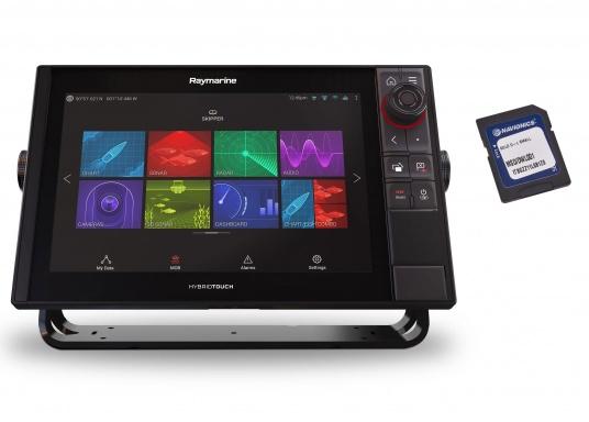 Spezial für Skipper entwickelt, die alles in einem Display haben wollen. Ausgestattet mit einem ultra-schnellen Quad-Core-Prozessor, einem superhellen IPS-Display und der intelligenten LightHouse Bedienoberfläche - für ein reibungsloses und intuitives Navigationserlebnis. Der AXIOM PRO-S Display ist ausgestattet mit dem Real Vision™ 3D-Sonar und 1 kW CHIRP-Sonar.Der AXIOM PRO-S Display ist ausgestattet mit dem Real Vision™ 3D-Sonar und 1 kW CHIRP-Sonar sowie einer Navionics+ SmallKarte.
