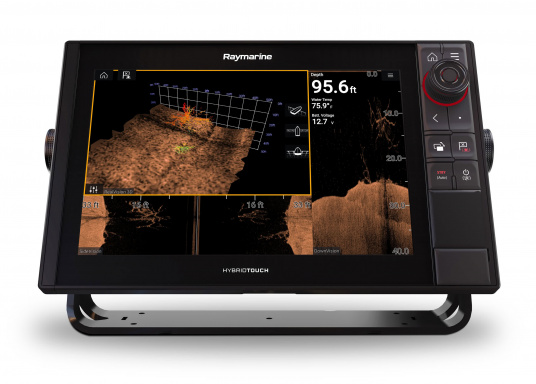 Spezial für Skipper entwickelt, die alles in einem Display haben wollen. Ausgestattet mit einem ultra-schnellen Quad-Core-Prozessor, einem superhellen IPS-Display und der intelligenten LightHouse Bedienoberfläche - für ein reibungsloses und intuitives Navigationserlebnis. Der AXIOM PRO-S Display ist ausgestattet mit dem Real Vision™ 3D-Sonar und 1 kW CHIRP-Sonar.