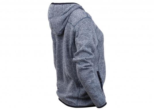 Tolle Fleecejacke für Damen mit kuschelweicher Innenseite. Der Fleece hat elastische Bündchen am Saum, zwei Seitentaschen mit Reißverschluss und eine weitere Reißverschlusstasche am Oberarm. (Bild 4 von 14)
