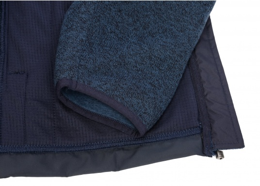 Comfortable fleece jacket for men. The fleece has a full-length zipper and two side pockets, which also have zippers.  (Image 7 of 12)