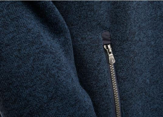 Comfortable fleece jacket for men. The fleece has a full-length zipper and two side pockets, which also have zippers.  (Image 10 of 12)