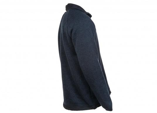 Comfortable fleece jacket for men. The fleece has a full-length zipper and two side pockets, which also have zippers.  (Image 2 of 12)