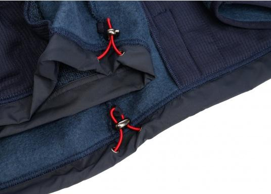 Comfortable fleece jacket for men. The fleece has a full-length zipper and two side pockets, which also have zippers.  (Image 12 of 12)
