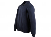 CROMWELL Men's Half-Zip Sweater / navy blue