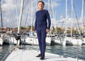MERINO Men's Trousers / navy blue