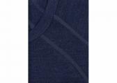 MERINO Men's shirt / navy blue