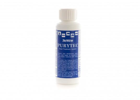 Originales Nachfüllpack für den Spülwasserzusatz PURYTEC von Yachticon. Inhalt: 100 ml.
