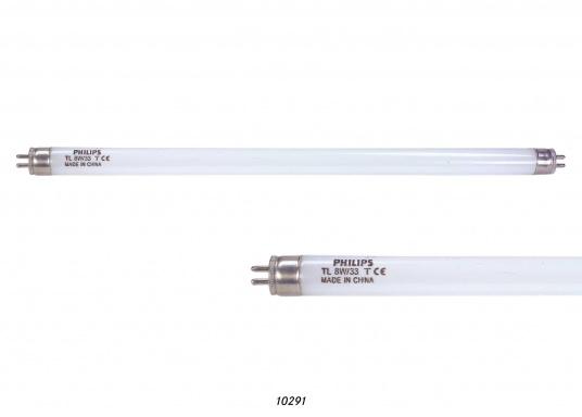 Diese Leuchtstoffröhre ist für 12 Volt und 24 Volt geeignet. Leistung 8 Watt. Länge: 290 mm. (Bild 2 von 2)