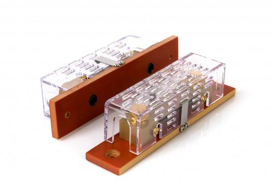 Hier finden Sie passend zu Ihrem Lichtmaschinen-zu-Batterie-Lader eine Fernbedienung mit der alle wichtigen Parameter des Ladegeräts angezeigt werden. Inklusive zwei Shunts. (Bild 4 von 5)