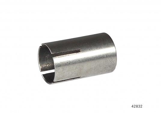 Originale Reduzierhülsefür die Wasserheizung von Webasto. Die Reduzierhülse ist für die Verbindungeines 24 mm-Abgasrohres mit einem 22 mm-Abgasstutzen vorgesehen.