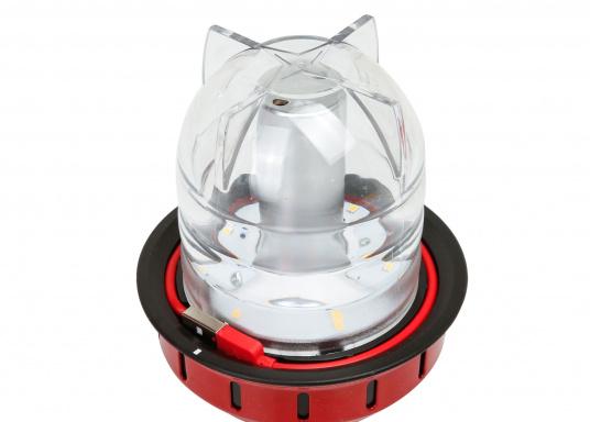 Led Lampe Rouge Barebones Beacon Suspendre À Table De Poser CdoBxe