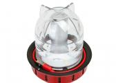 LED table / hanging lamp / red