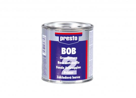 Die BOB Grundierung ist speziell auf die BOB Rostversiegelung abgestimmt und gewährleistet einen dauerhaften Rostschutz.