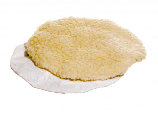 Das Ersatz-Polierhaubenset für die Poliermaschine von YACHTICON besteht aus zwei Teilen: 1x Textil- und 1x Fell-Polierhaube zum Nachpolieren.