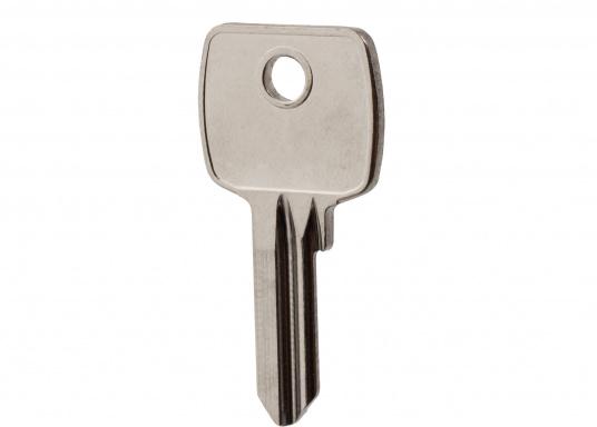 Passender Zusatz- bzw. Ersatzrohling für das Sicherheitsschloss aus unserem Sortiment mit der Artikelnummer: 57126.  (Bild 2 von 2)